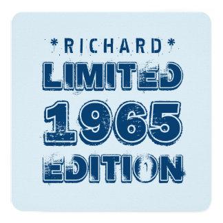 1965 50th Birthday Limited Edition Custom J50