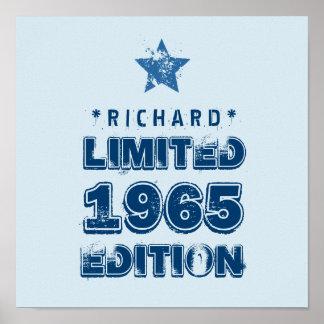 1965 50th Birthday Limited Edition Custom J50Z Poster