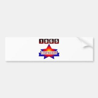 1965 A Star Was Born Bumper Sticker