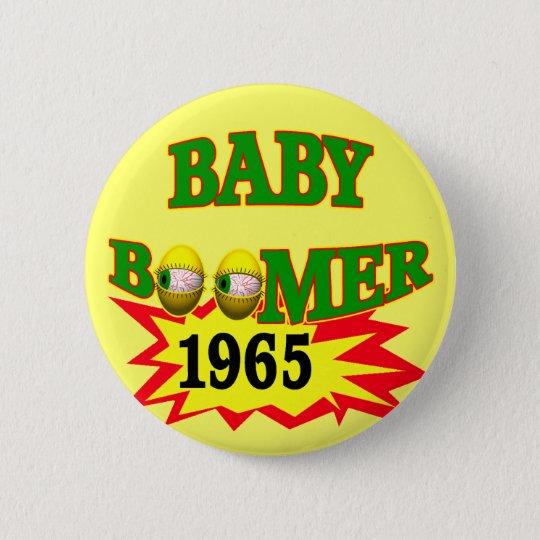 1965 Baby Boomer 6 Cm Round Badge