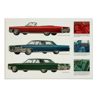 1965 Cadillac Prestige Advert Poster