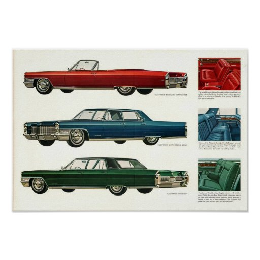 1965 Cadillac Prestige Advert Print