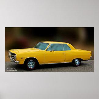 1965 Chevrolet Chevelle SS327 Poster