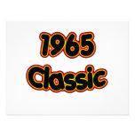 1965 Classic Custom Announcements