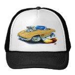 1965 Corvette Gold Convertible Mesh Hats