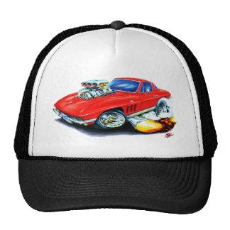 1965 Corvette Red Car Cap