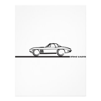 1965 Corvette Stingray Hardtop BLK 21.5 Cm X 28 Cm Flyer