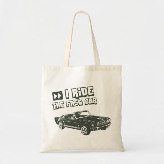 1965 Ford Mustang Convertible Tote Bags