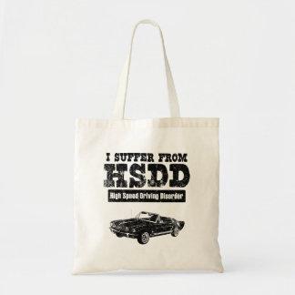 1965 Ford Mustang Convertible Canvas Bag