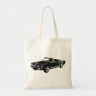 1965 Ford Mustang Convertible Canvas Bags