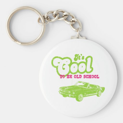 1965 Ford Mustang Convertible Keychain