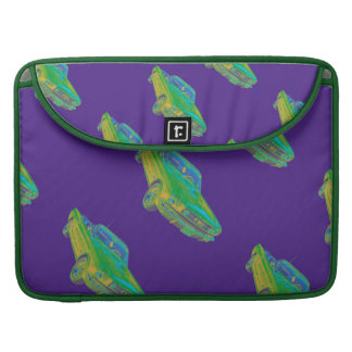 1965 Ford Mustang Convertible Pop Image MacBook Pro Sleeve