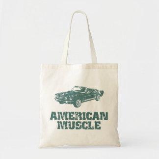 1965 Ford Mustang Convertible Budget Tote Bag