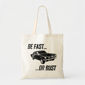 1965 Ford Mustang Coupe Canvas Bag
