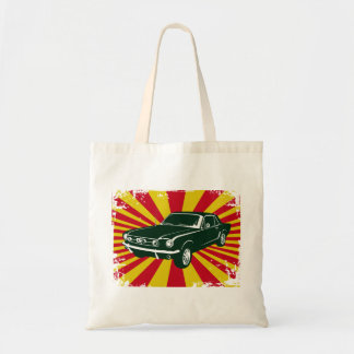 1965 Ford Mustang Coupe Budget Tote Bag