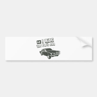 1965 Ford Mustang Coupe Bumper Sticker