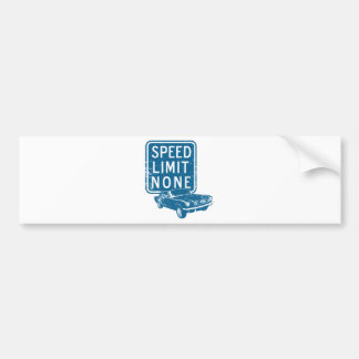 1965 Ford Mustang Coupe Car Bumper Sticker