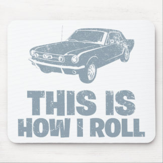1965 Ford Mustang Coupe Mouse Pad