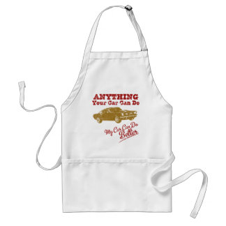 1965 Ford Mustang Fastback Adult Apron