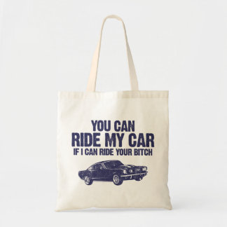 1965 Ford Mustang Fastback Tote Bag