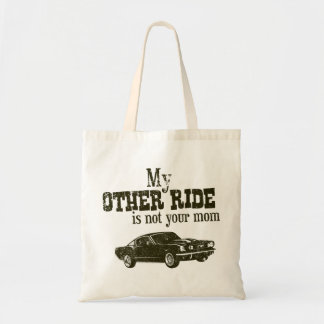 1965 Ford Mustang Fastback Canvas Bag