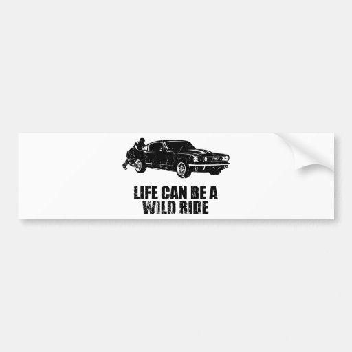 1965 Ford Mustang Fastback Bumper Stickers