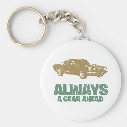 1965 Ford Mustang Fastback Keychains