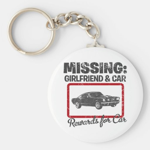 1965 Ford Mustang Fastback Key Chains