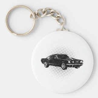 1965 Ford Mustang Fastback Keychain