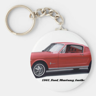 1965_Ford_Mustang_fastback Keychains