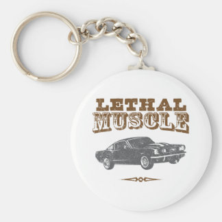 1965 Ford Mustang Fastback Key Chain