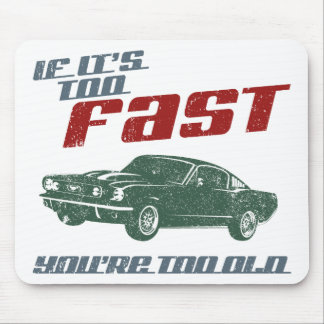 1965 Ford Mustang Fastback Mousepads