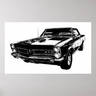 1965 GTO poster