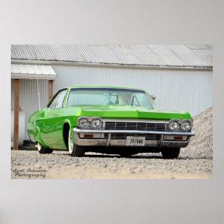 1965 Impala Poster