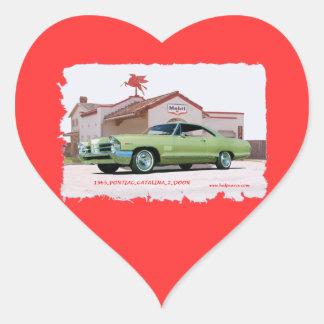 1965_PONTIAC_CATALINA_2DOOR HEART STICKER