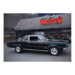 "1965 Pontiac GTO Muscle Car Drive-In Invitations 5"" X 7"" Invitation Card"