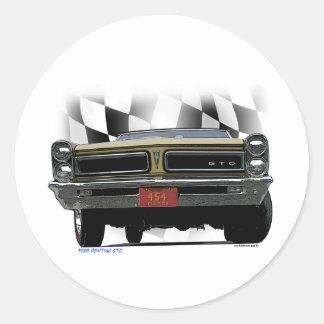 1965 Pontiac GTO Stickers