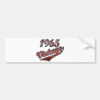 1965 Vintage Bumper Sticker