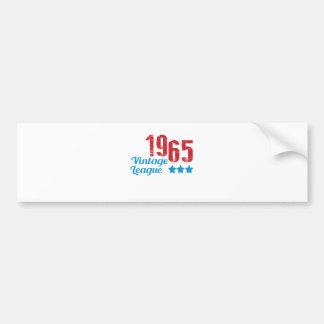 1965 vintage leaque bumper stickers