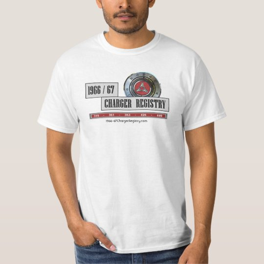 1966/67 Charger Registry T-Shirt - Normal