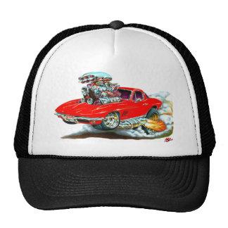 1966-67 Corvette Red Car Cap