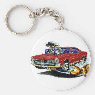 1966-67 GTO Maroon Car Key Ring