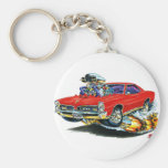 1966-67 GTO Red Car Key Chains