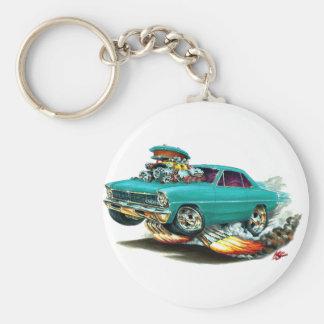 1966-67 Nova Aqua Car Key Ring