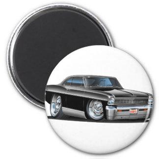 1966-67 Nova Black Car Magnet