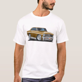 1966-67 Nova Brown Car T-Shirt