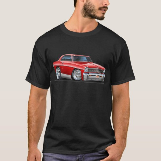 1966-67 Nova Red Car T-Shirt