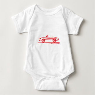 1966 Alfa Romeo Duetto Spider Veloce Baby Bodysuit