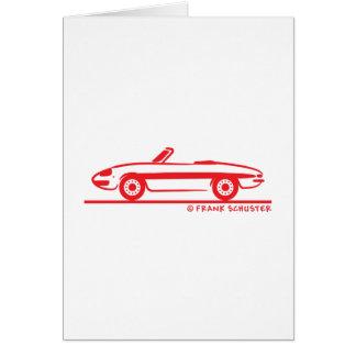 1966 Alfa Romeo Duetto Spider Veloce Card