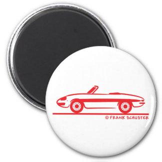 1966 Alfa Romeo Duetto Spider Veloce Fridge Magnets